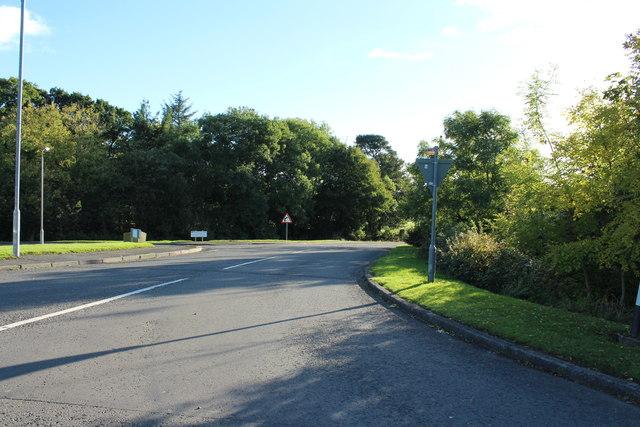 Road to Dalrymple at Hollybush