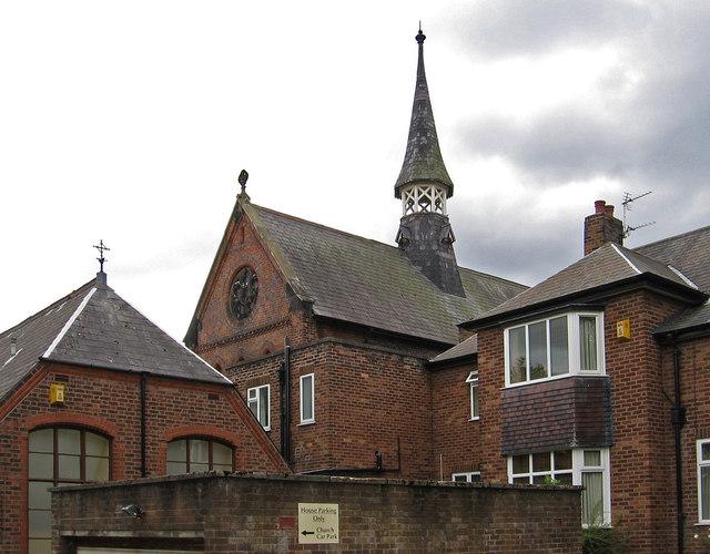 Northwich - RC Church spire