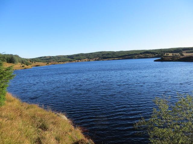 Loch a' Chaorainn north end