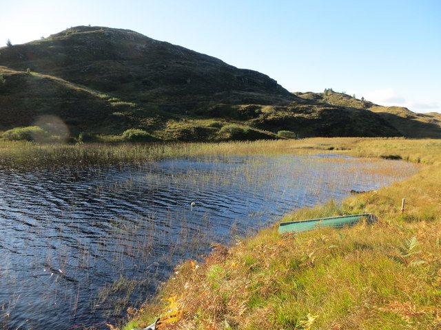 The south end of Loch a' Chaorainn