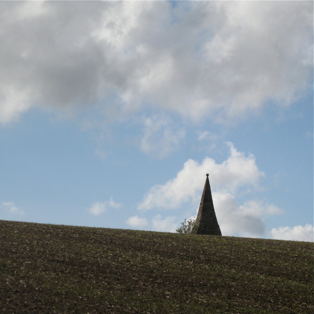 Compton Pike against the sky