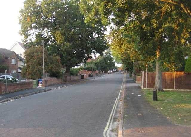 View along Salisbury Road