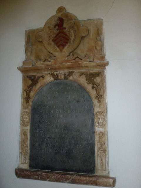 Saint Mary Major, Ilchester: memorial (II)