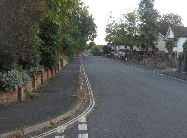 View along Salisbury Road
