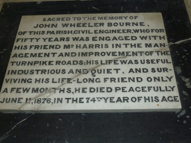 Saint Mary Major, Ilchester: memorial (IV)