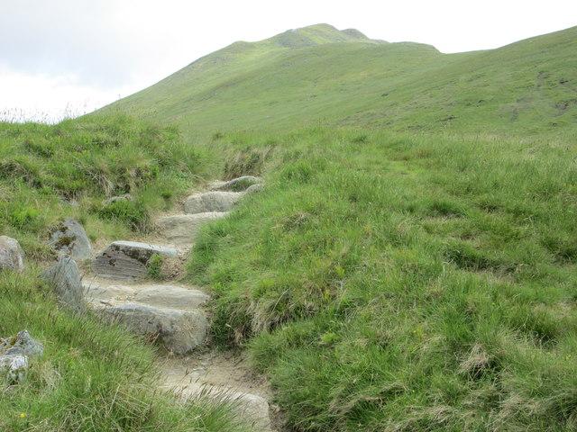 Path up Beinn Ghlas