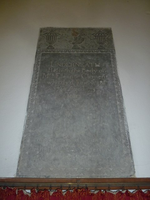Saint Mary Major, Ilchester: memorial (VI)