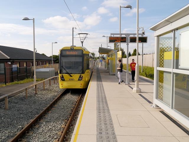 Tram Leaving Newbold