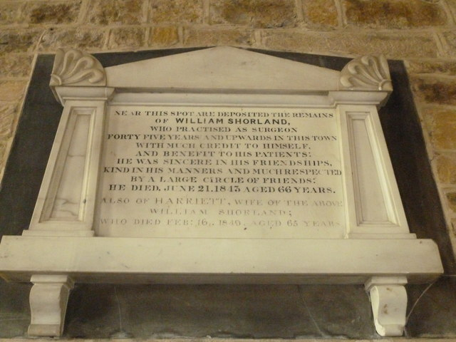 Saint Mary Major, Ilchester: memorial (X)