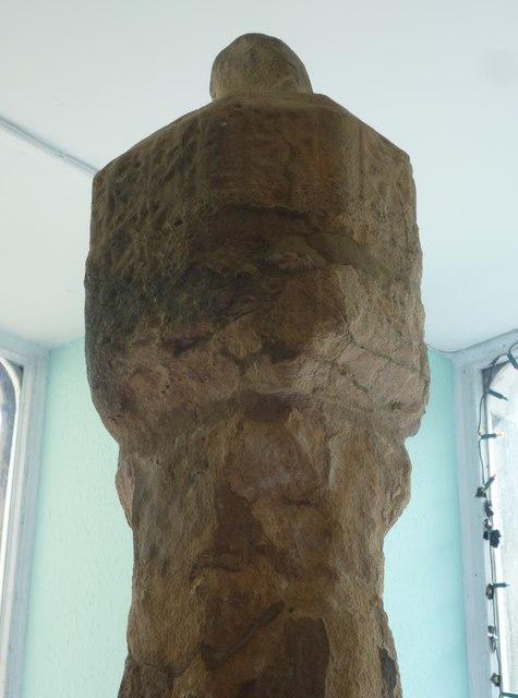 The head of Dingwall mercat cross