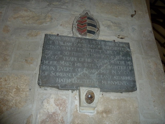 Saint Mary Major, Ilchester: memorial (XIII)