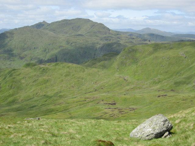 Meall nan Tarmachan from Beinn Ghlas