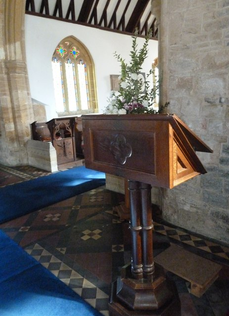 Saint Mary Major, Ilchester: lectern