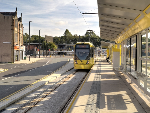 Rochdale Railway Station Tramstop