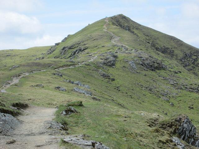 Path leading down from Beinn Ghlas