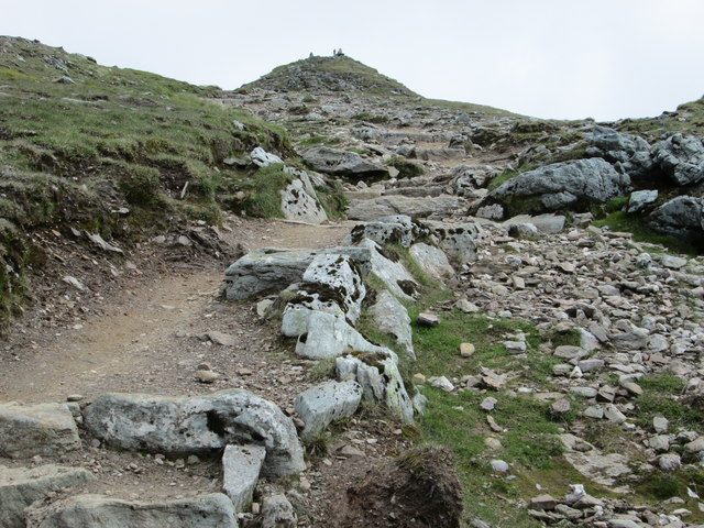 Final approach to Ben Lawers summit