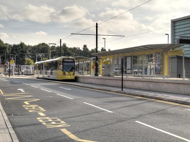 Metrolink Stop, Rochdale Railway Station