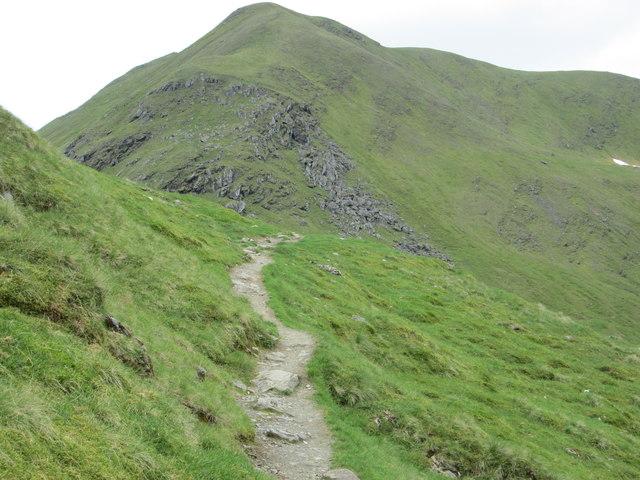 Path towards Meall Corranaich