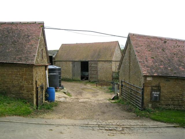 Barns at farmyard entrance, Underhill Farm, Winderton
