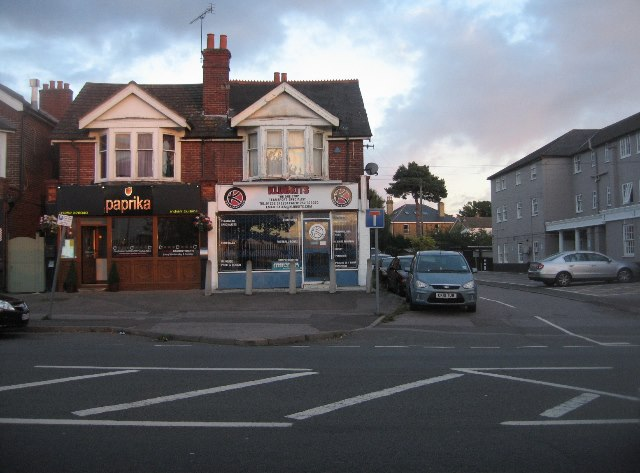 Local shops - Farnborough Road