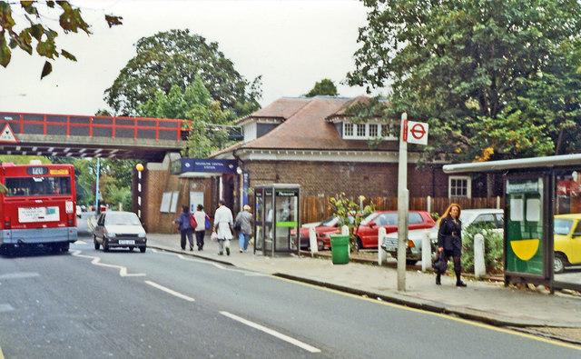 Hounslow Central station, entrance 1992