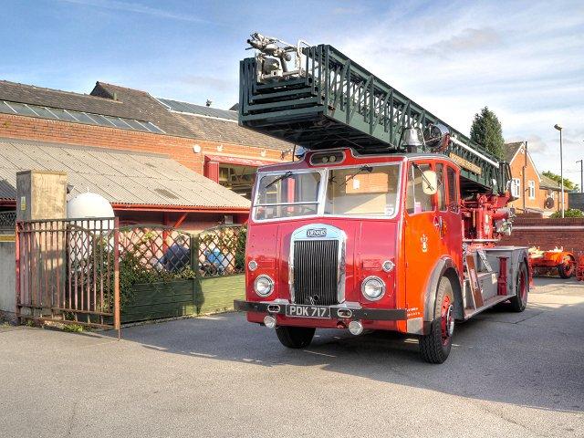1957 Dennis-Metz Fire Engine