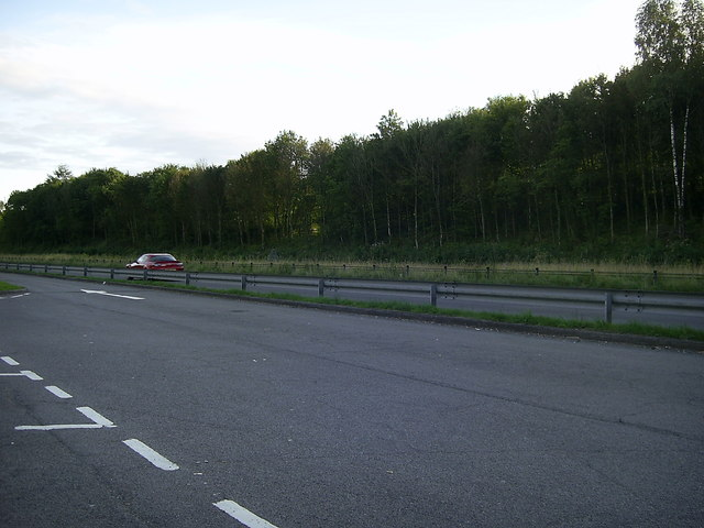 A48 Dual Carriageway near Greynor