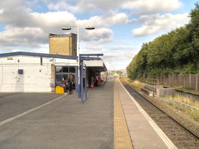 Platform 3, Rochdale Railway Station