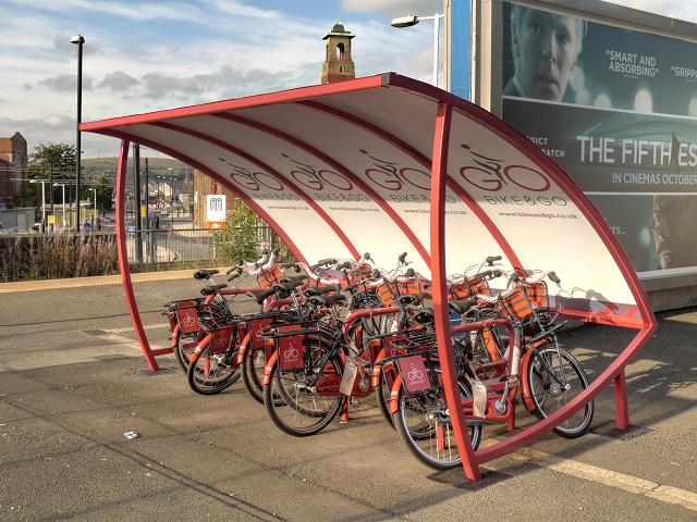 Bike and Go, Rochdale Station