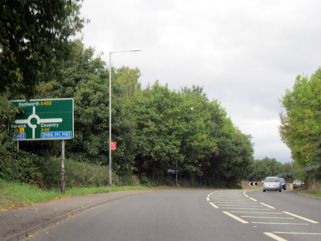 A452 Approaching Island For A46