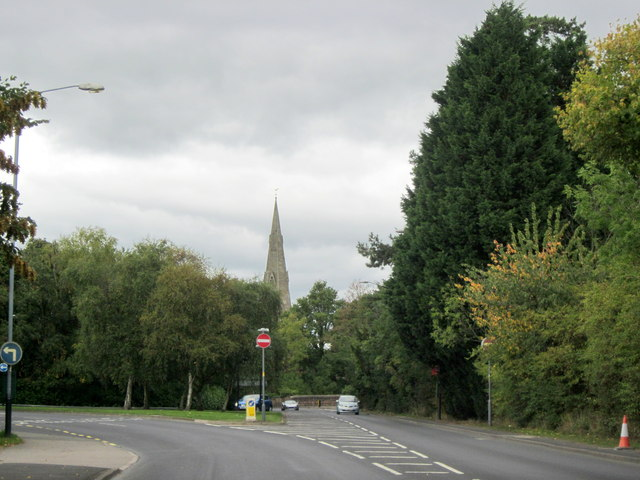 A452 Leamington Road Approaching Kenilworth