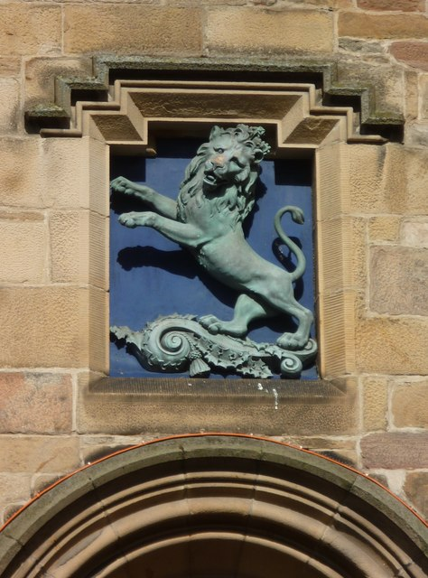 Tolbooth lion, High Street