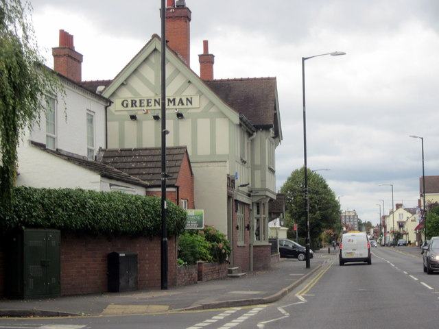 The Green Man Public House Kenilworth