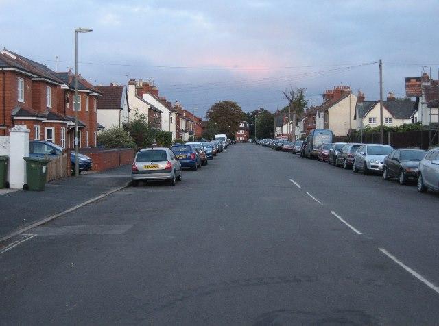 View along Cross Street