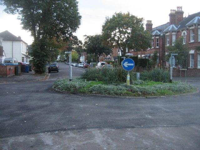 Houses along Osborne Road