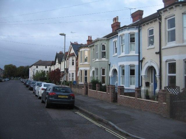 Houses along Southampton Street