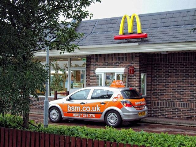 McDonald's, Ruston Way, Lincoln