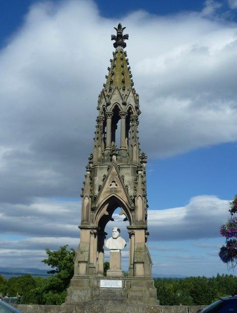 Murray Monument, Lamington Street