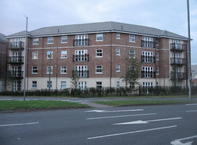 New flats on the A325