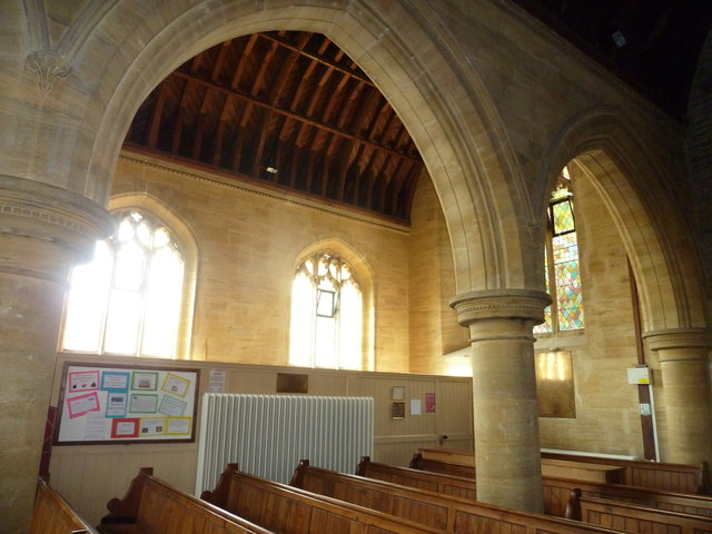 Inside Saint Mary Major, Ilchester (f)