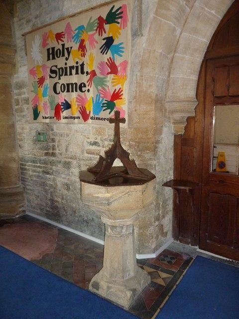 Inside Saint Mary Major, Ilchester (h)