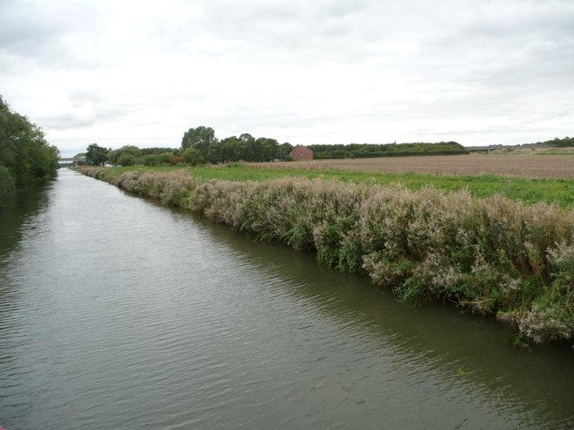 Fossdyke, looking north-west