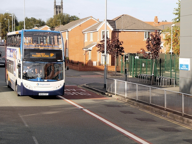 Metrolink Replacement Bus, Cheetham Hill Road