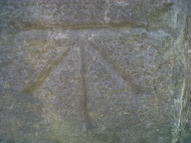 Ordnance Survey Benchmark - Carmarthen, Picton's Monument