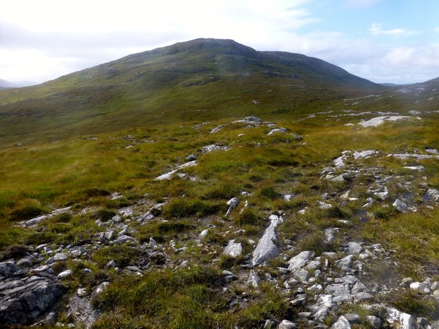 View Towards Caultrashal Mor [Coltraiseal Mòr]