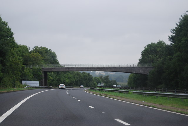 Church Road Bridge, M48