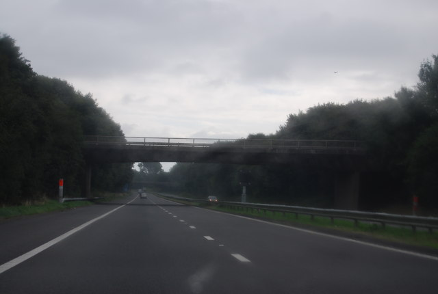 Parkwall Hill Bridge, M48