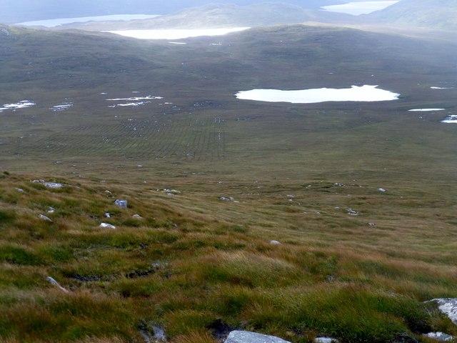 View Towards Loch Ruadh Meadhanach