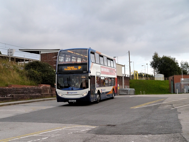 Metrolink Replacement Service at Radcliffe Tram Station