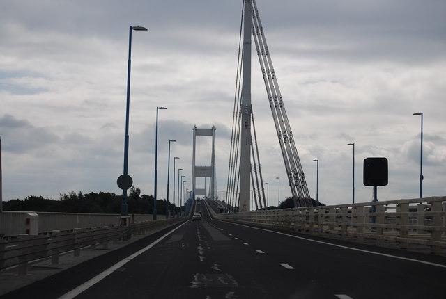 Severn Bridge, eastbound
